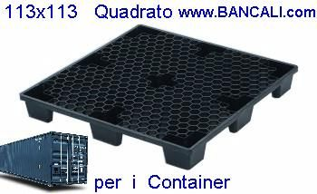 container pallet x export 113x113 inseribile quadrato medio
