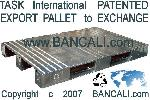 Europallet in Metallo per Export  80x120